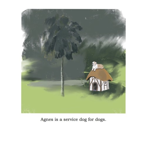 1 Agnes Service Dog For Dogs by Bruce Dolin and Andrea Alsberg